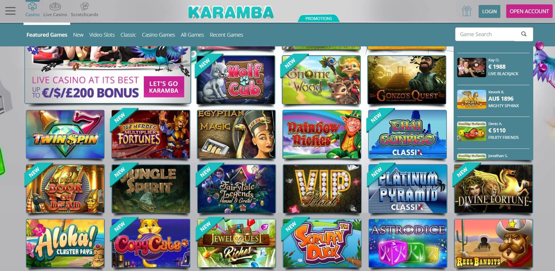 karamba casino uk