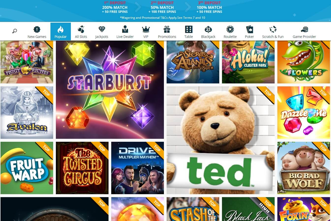 spinland casino games and slots