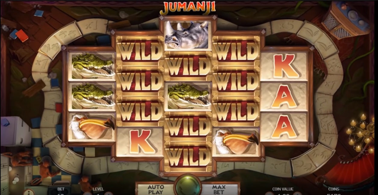 jumanji slot review new