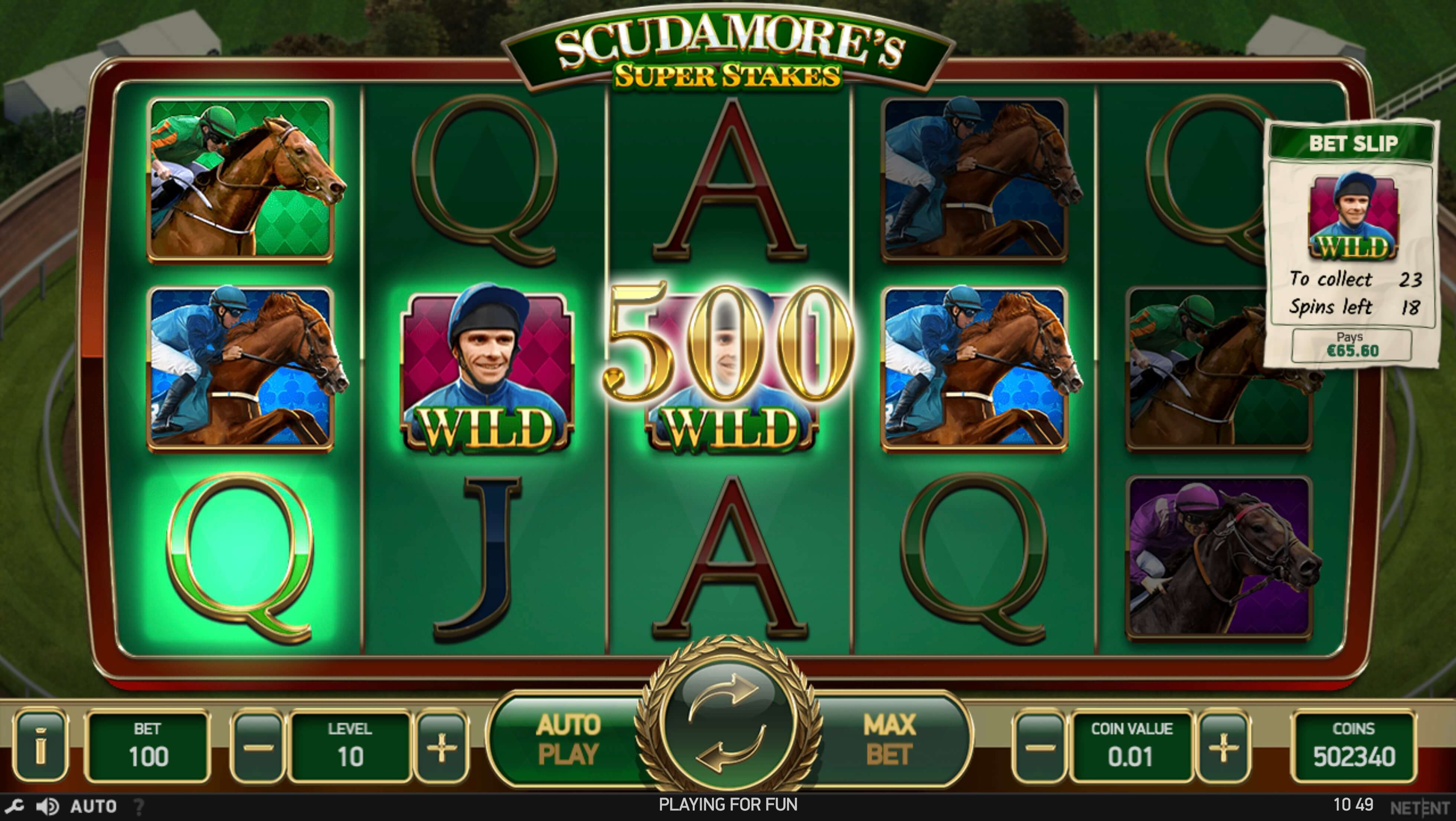 scudamores slot screenshot