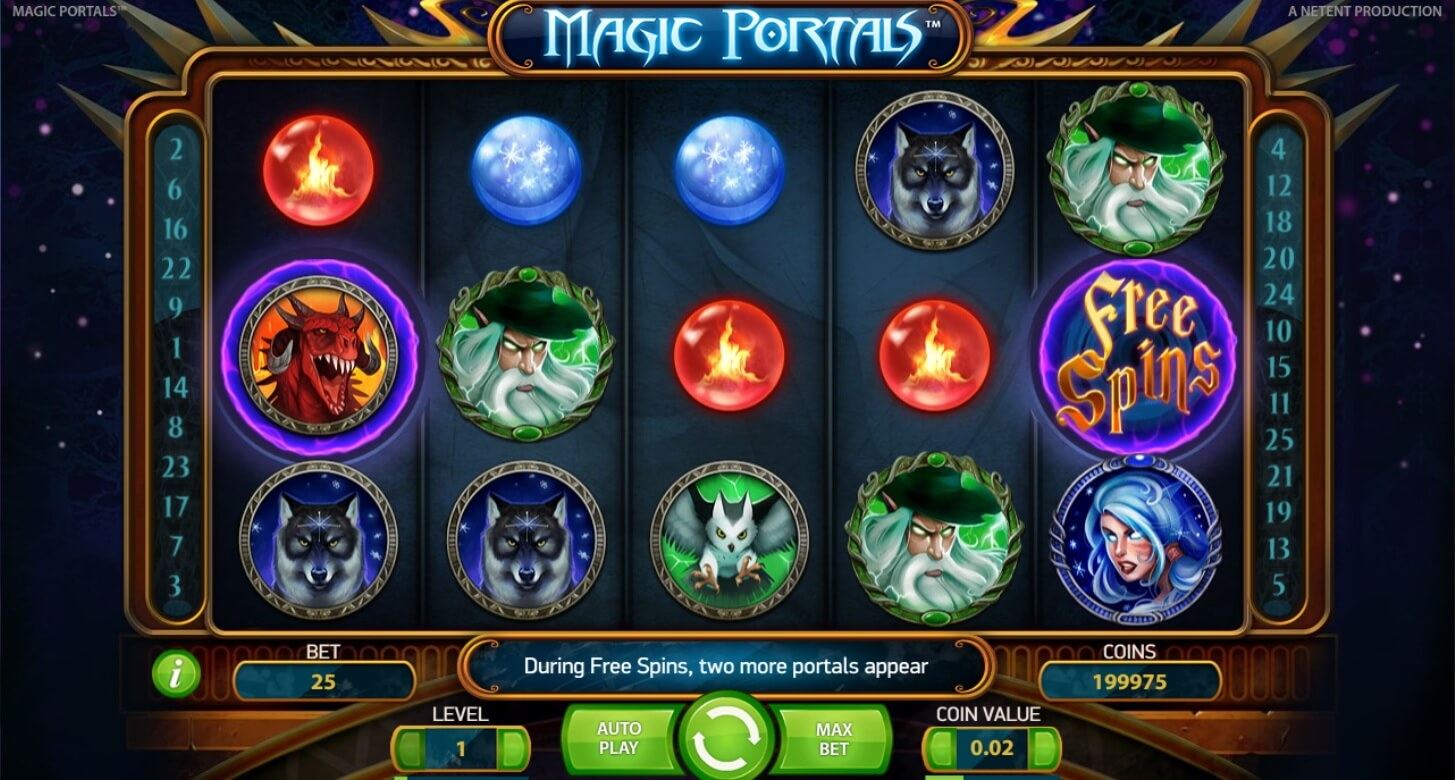 magic portals slot machine